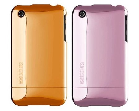 Carcasas metalizadas de InCase para el iPhone 3G/3GS