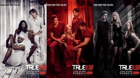 Carteles promocionales de la cuarta temporada de 'True Blood', la imagen de la semana