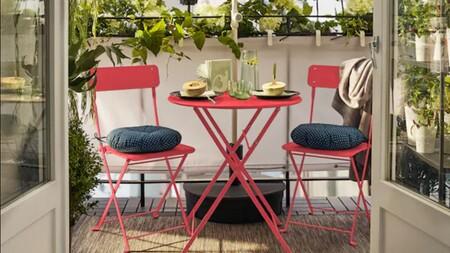 11 artículos de terraza de Ikea súper rebajados. Y son  ideales para poner a punto tu terraza