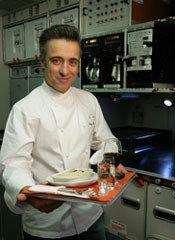 Sergi Arola cocina para Iberia