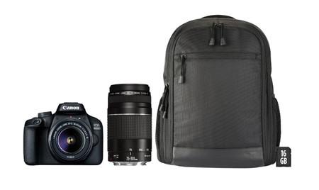 Canon Eos 4000d Con Tele