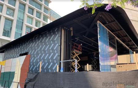 Siguen las obras: Apple quiere abrir su primera Flagship Store latinoamericana en septiembre
