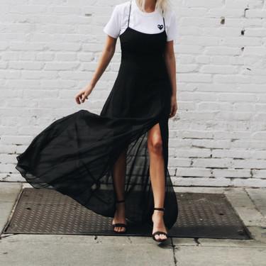 ¿Vestir de negro tus pies este verano 2018? Es posible con estas 19 sandalias de tacón low-cost