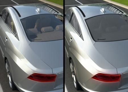 Continental desarrolla un cristal inteligente que aportará más autonomía a los coches eléctricos