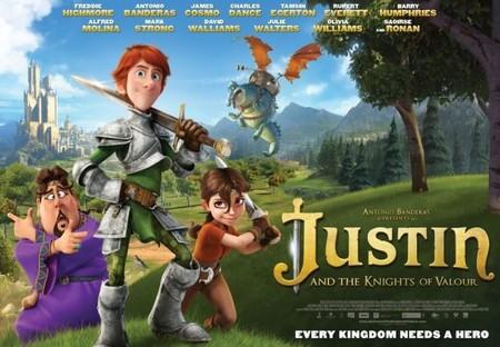 Banner de Justin y la Espada del Valor