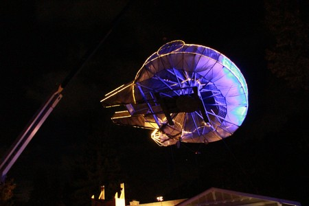 Light Up Millennium Falcon 6