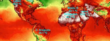 Se están rompiendo tantos récords de temperaturas extremas que es imposible llevar la cuenta