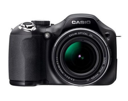 Casio EX-FH20, graba vídeo a 1000 fps