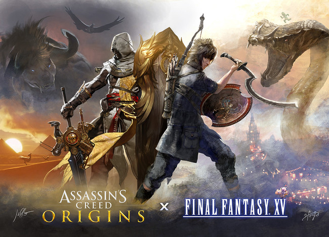 Asssassin S Creed Final Fantasy Xv