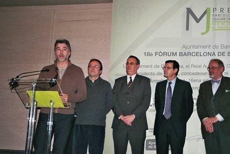 Premio Barcelona de Seguridad Vial Memorial M. Àngels Jiménez para el libro Seguro en Moto