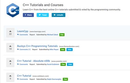 Learn C Best C Tutorials Hackr Io
