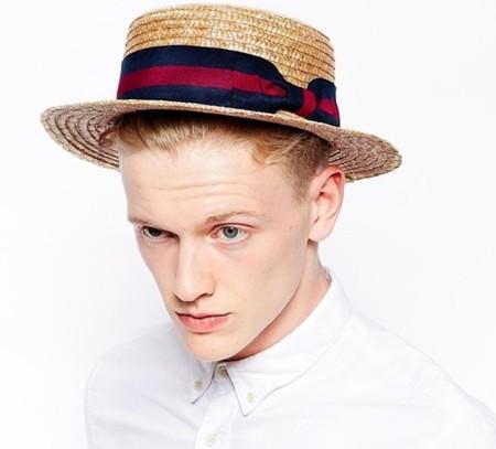 Asos sombrero paja