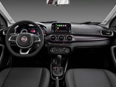 Fiat por fin muestra el interior del Cronos y no tiene mala pinta