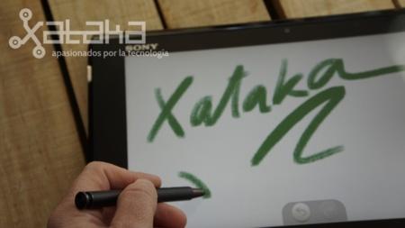 Sony Vaio Duo 11 con stylus