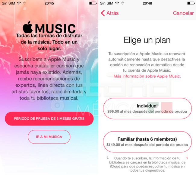 Apple Music Mexico