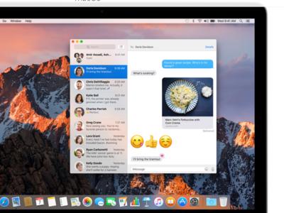 Cómo borrar rápidamente una conversación de Mensajes en el Mac