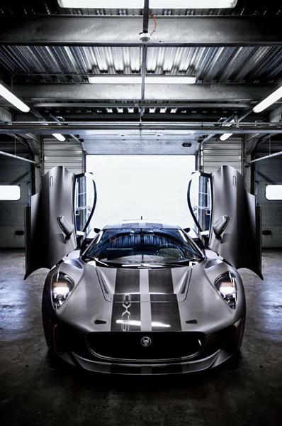 El nuevo Jaguar C-X75 Hybrid Supercar