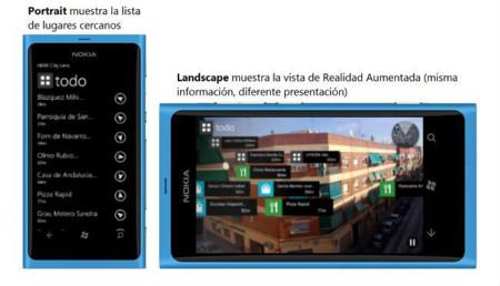 HERE City Lens (modos)