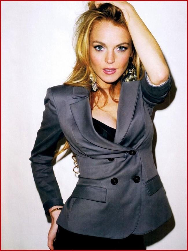 Foto de Lindsay Lohan en Harper's Bazaar (7/9)