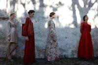 Retratos de melancolía por Frida Kahlo y Valentino. Campaña Verano 2012