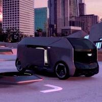 Cadillac trae el futuro al presente y sorprende con un coche volador y una lujosa limusina autónoma