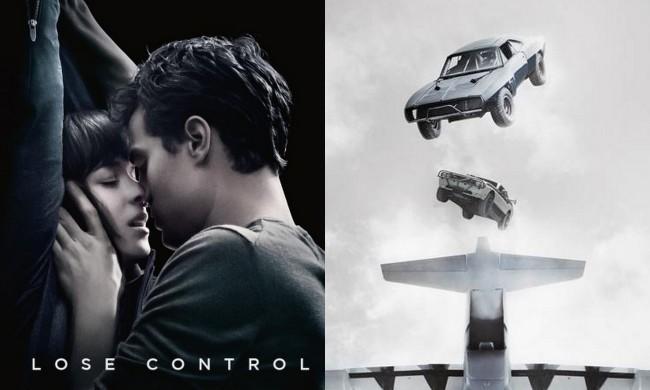 Imágenes de 50 Sombras de Grey y Fast and Furious 7