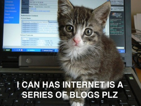 Internet is a series of Blogs (XX)