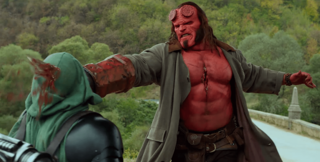 "'Hellboy' will come censored to Spain to premiere a montage without explicit violence ""to reach a wider public"""