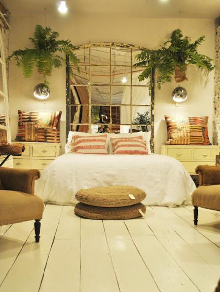 13 originales cabeceros de cama para darle otro aire al for Como poner un espejo en la pared