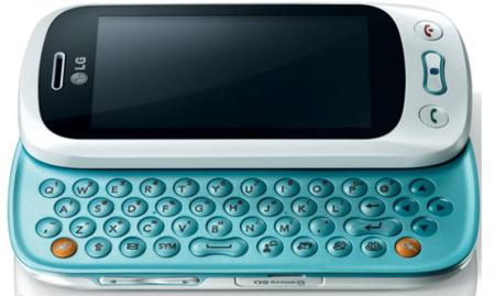LG GD880 Mini y LG GT350 con teclado QWERTY