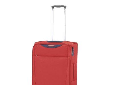 ¿Planeando tus vacaciones? La maleta Samsonite  Base Hits Spinner de 66 cm en rojo ahora por 67,11 euros en Amazon