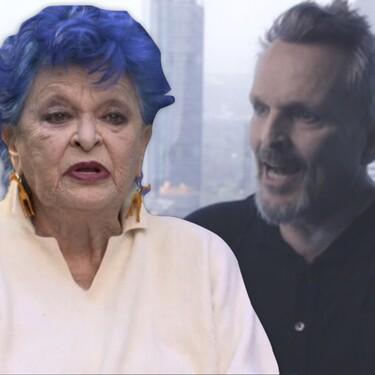 """Miguel Bosé niega que su madre Lucía muriera de coronavirus: """"Se la sedó hasta la muerte, como a todos los ancianos"""""""