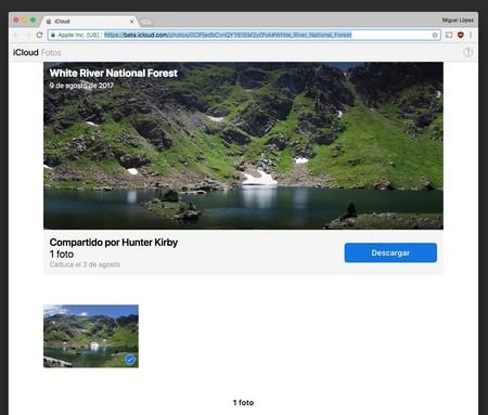 Icloud Web Compartir Fotos