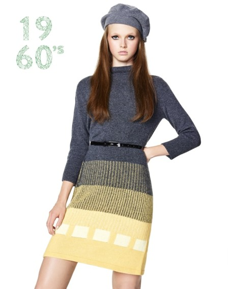 Sixties Merino Wool Woman