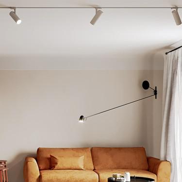 37 m2 en un apartamento en Minsk que se ha inspirado en España para su reforma