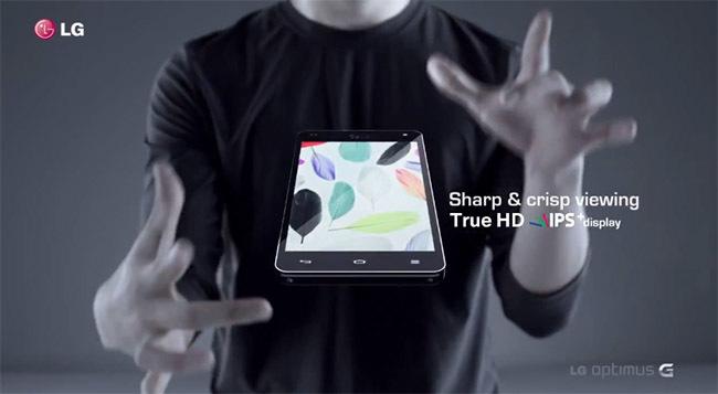 LG Optimus G promo
