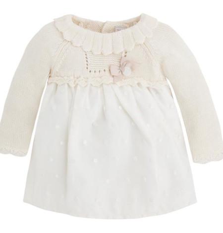Vestido Bebe Punto