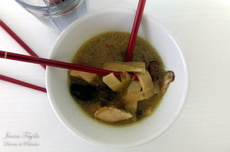 Receta de sopa agridulce