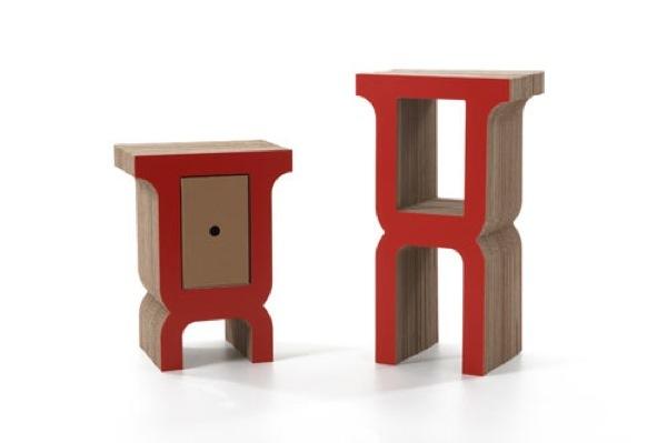 Foto de Interesante colección de muebles de cartón de Kubedesign (2/6)