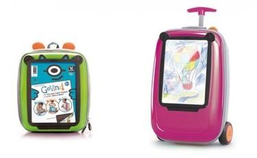 Mochilas y maletas GoVinci, personalizadas con los dibujos de tus hijos