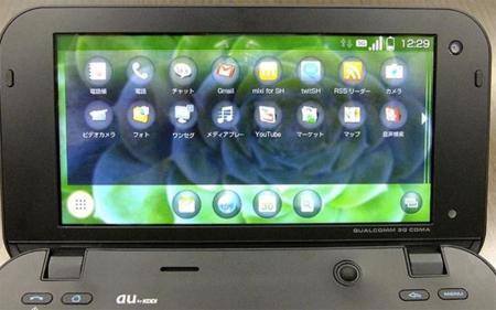 Sharp IS01, otro Android con Snapdragon que asalta Japón