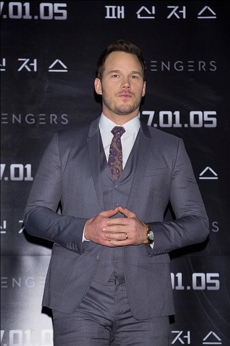Chris Pratt Jennifer Lawrence Passengers Movie Premiere 03