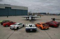 Ideas para el fin de semana: conducir superdeportivos en un aeropuerto militar de Canadá