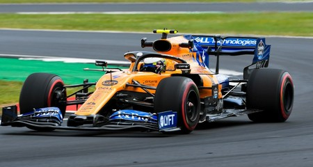 Norris Silverstone F1 2019
