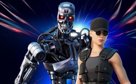Fortnite suma y sigue: el Terminator T-800 y Sarah Connor ya están disponibles en el battle royale de Epic