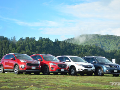 Comparativa: KIA Sportage vs Mazda CX-5 vs Honda CR-V vs Nissan X-Trail (III)