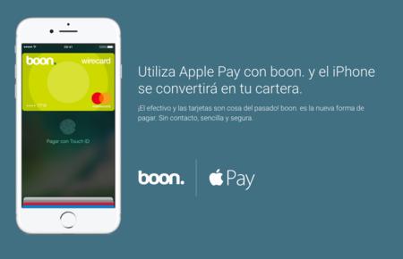 Boon se convierte desde hoy en una de las opciones más cómodas para usar Apple Pay en España