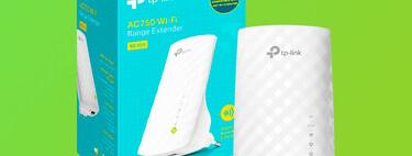 Hasta 750 Mbps de velocidad con el repetidor Wi-Fi TP-Link RE200 AC750 con puerto Ethernet, por 25,95 euros en Amazon