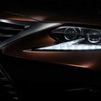 Luces y sombras en el teaser del Lexus ES que se presentará en Shanghai