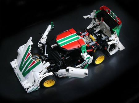 Lancia Stratos HF Lego